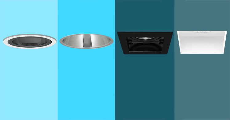 Trim and Trimless Downlighters